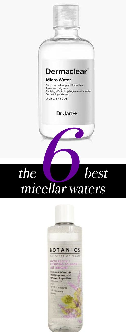 These 6 best micellar waters will simplify your skincare routine.