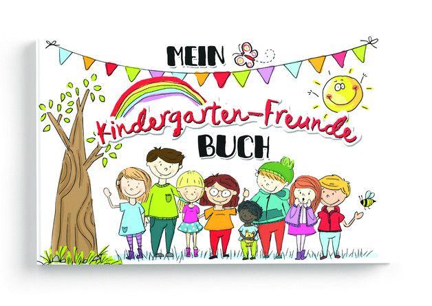 **Ein toller Erinnerungsschatz an eine der schönsten Zeiten im Leben!**  In diesem tollen und handlichen Kindergarten-Freunde Buch ist Platz für 17 Kindergarten-Freunde, Kindergärtner/innen und...