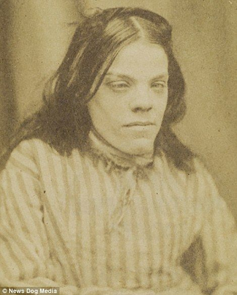 Portraits from Suffolk County Lunatic Asylum taken by Dr Hugh Welch Diamond who…