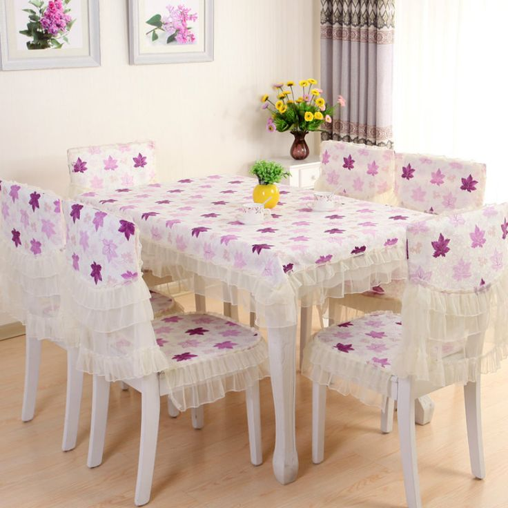 2017 pastoral PVC tablecloth waterproof and oil proof maple leaf pattern rectangular tablecloth home living room table