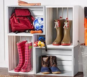 Crate Shoe Holder