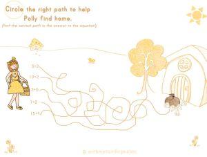 Addition path puzzle! :-)