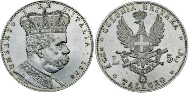 5 Lire tallero d'argento