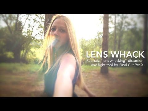 ▶ Final Cut Pro X Lens Whack Effect - YouTube