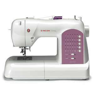 After years of wanting to learn to sew, I finally am starting!  This machine rates great for the $ and a bonus, Good Housekeeping gave it an A-.