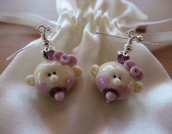 Hey, I found this really awesome Etsy listing at https://www.etsy.com/listing/122229082/baby-earrings-baby-girl-earrings-baby