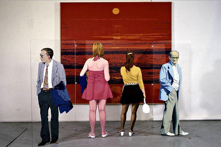 Edmund Alleyn - Red Sunset, 1973