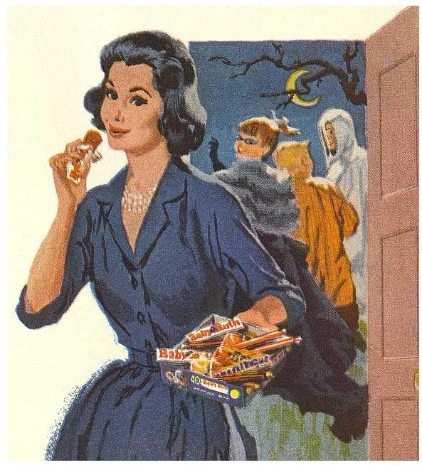 Vintage Halloween Trick or Treat | vintage halloween