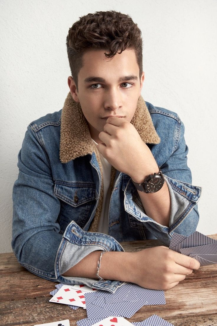 Austin Mahone for Fossil.