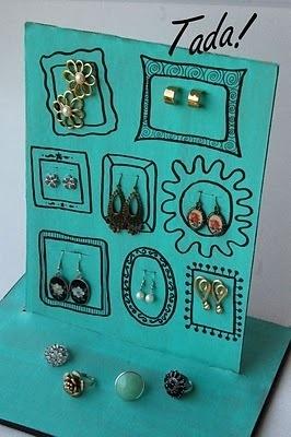 Cute jewelry storage