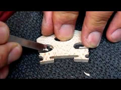 Violin bridge - YouTube