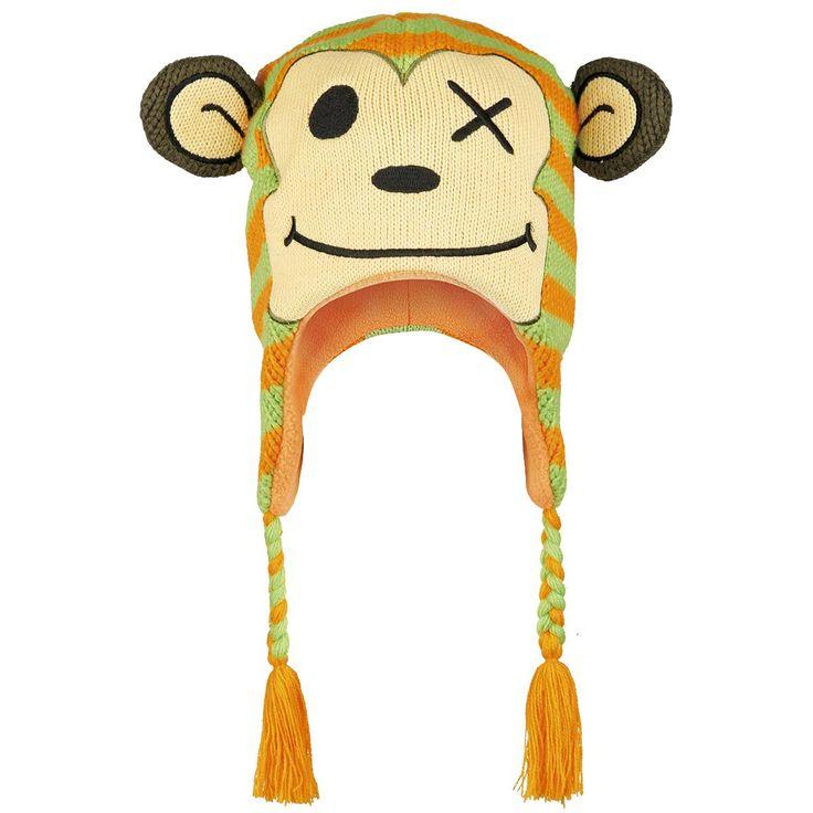 #Monkey #mono #freaks #friends #fashion #Gorro #invierno #moda #animales #funny #cool things to have!  #empspain la mayor tienda online de Europa de Merchandising oficial de bandas de #Metal  #HardRock  #Heavy  Ropa #Gotica  #Punk y todo lo que te hace falta para vivir el Rockstyle en toda su dimensión...