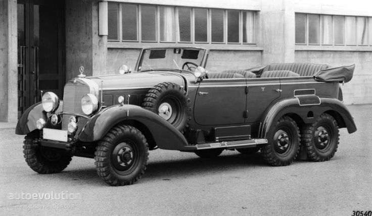 Mercedes g4 ww2 military staff cars pinterest for Mercedes benz g4