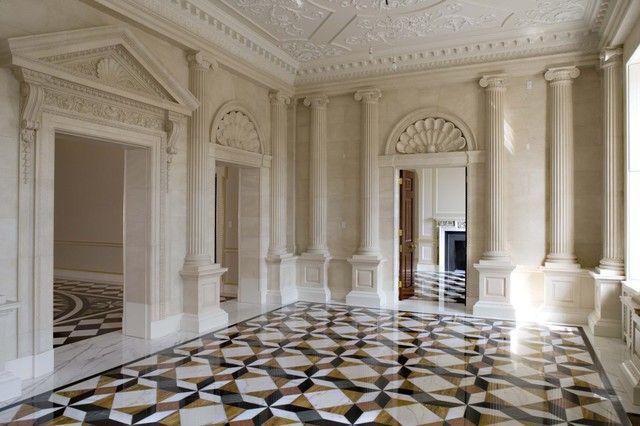 luxury marble floor inside andrey goncharenko palatial