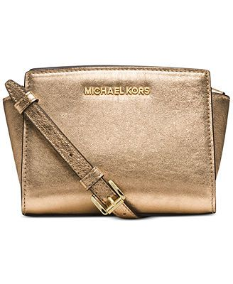 MICHAEL Michael Kors Selma Mini Messenger Bag. $178