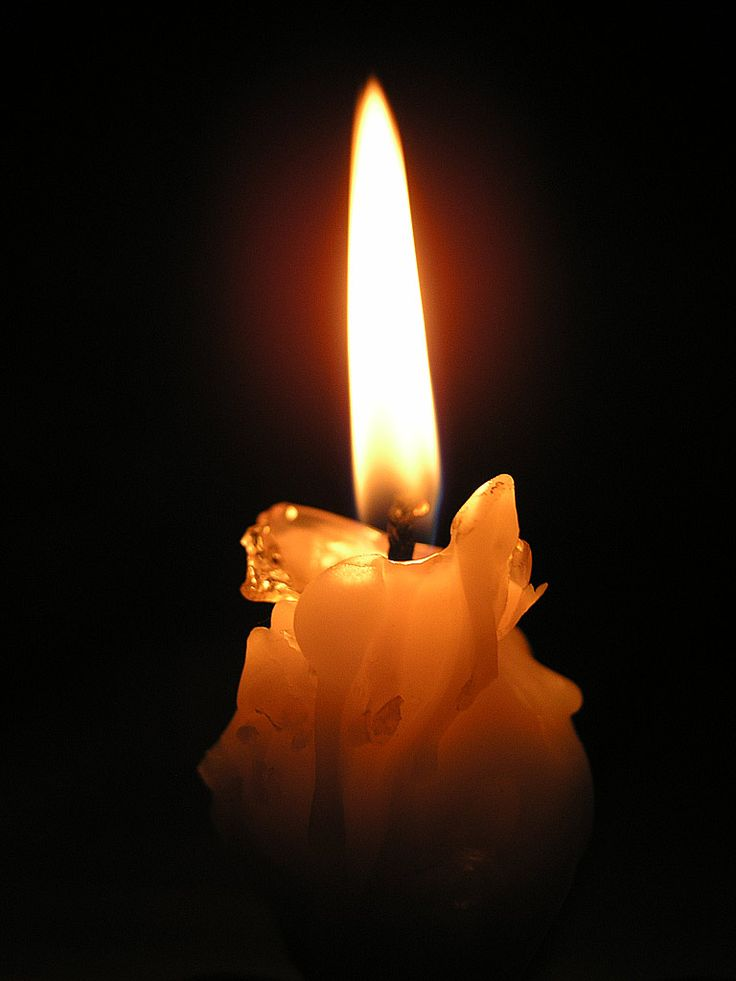 Траурная свеча картинка подруге