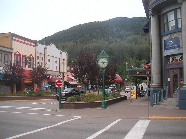 Historic downtown Revelstoke