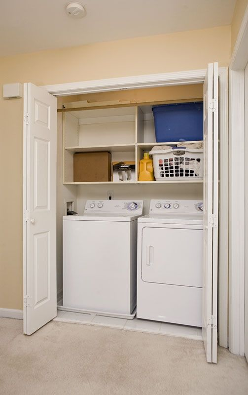 Parks Shelves And Washer And Dryer On Pinterest