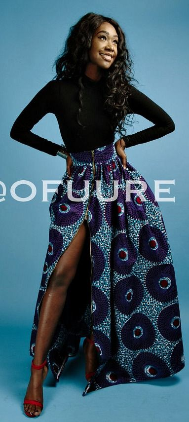 the KOLA skirt. African print maxi skirt, 2 side pockets and 2 way zipper in front so skirt can be worn with it closed or zipped up to give a slit. The skirt is fully lined.    Ankara | Dutch wax | Kente | Kitenge | Dashiki | African print bomber jacket | African fashion | Ankara bomber jacket | African prints | Nigerian style | Ghanaian fashion | Senegal fashion | Kenya fashion | Nigerian fashion | Ankara crop top (affiliate)