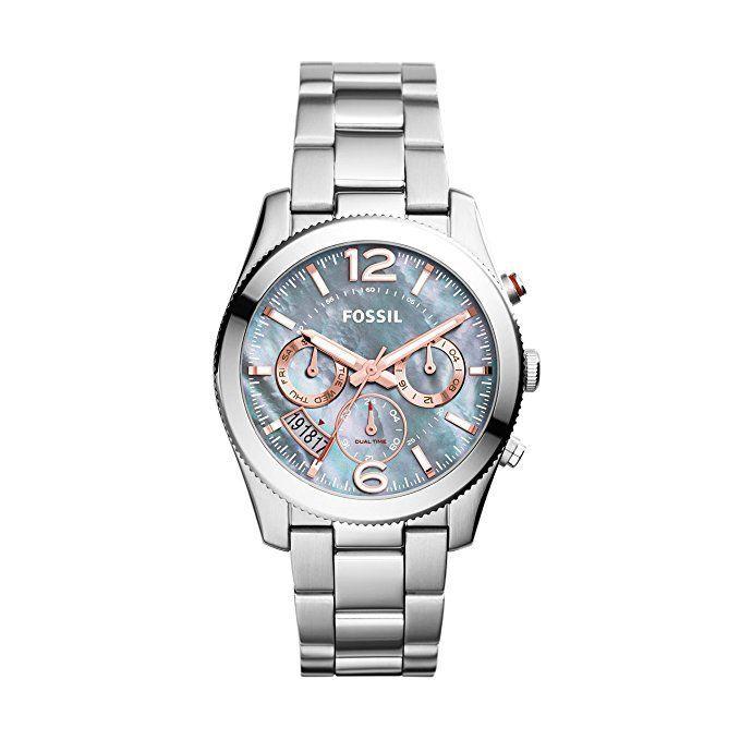 cool Montre pour femme : Fossil Women's ES3880 Stainless Steel Bracelet Watch...
