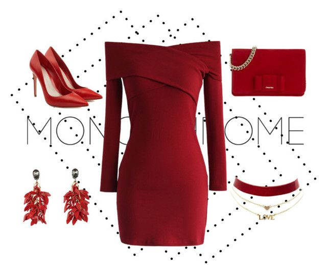 """""""All red!"""" by kharismabelle on Polyvore featuring Chicwish, Alexander McQueen, Charlotte Russe, Miu Miu, Marni, monochrome, contest, red and contestentry"""
