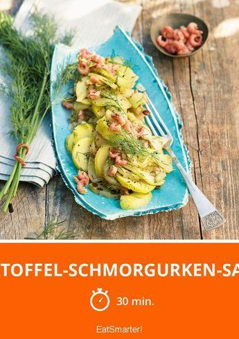Kartoffel-Schmorgurken-Salat | http://eatsmarter.de/rezepte/kartoffel-schmorgurken-salat