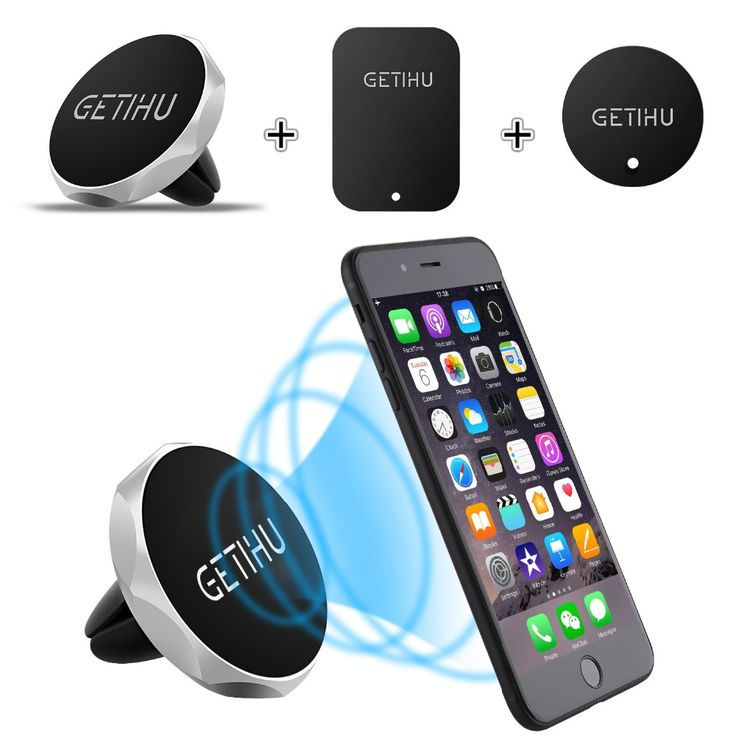 >> Click to Buy << GETIHU Car Phone Holder Magnetic Air Vent Mount Moblie Smartphone Stand Magnet Support Cell Cellphone Telephone Desk Tablet GPS #Affiliate
