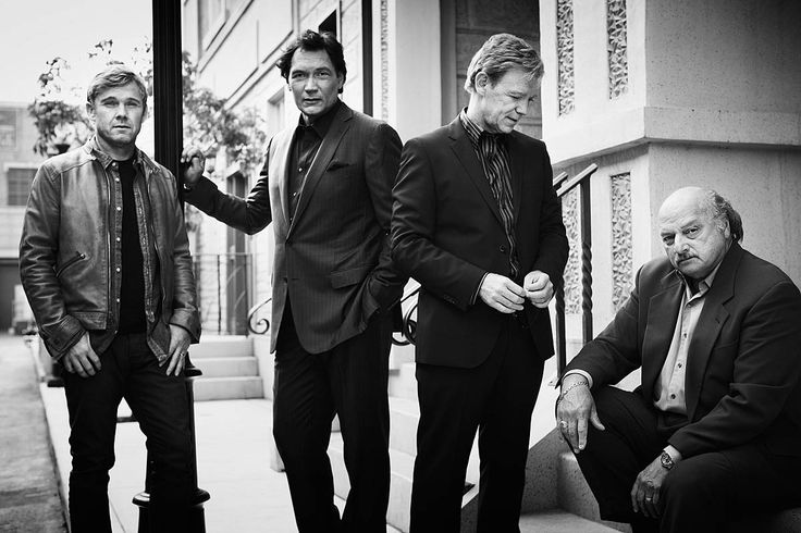 NYPD Blue Reunion - Dennis Franz, David Caruso, Jimmy Smits and Ricky Schroeder.