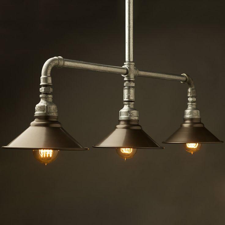 Diy Industrial Light Fixture Plumbing Pipe