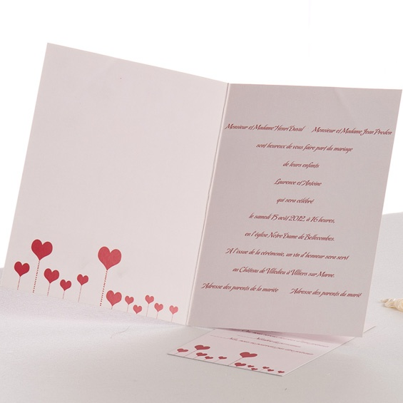 19 best carte d invitation pas cher mariage images on. Black Bedroom Furniture Sets. Home Design Ideas