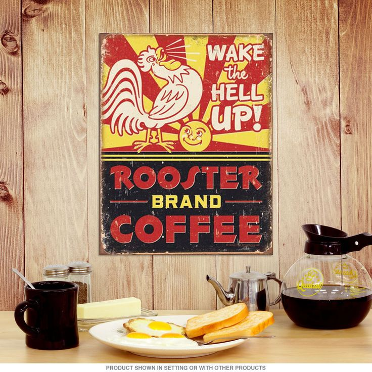 Tin Signs Diner Retro Metal Dining Sets Cdc