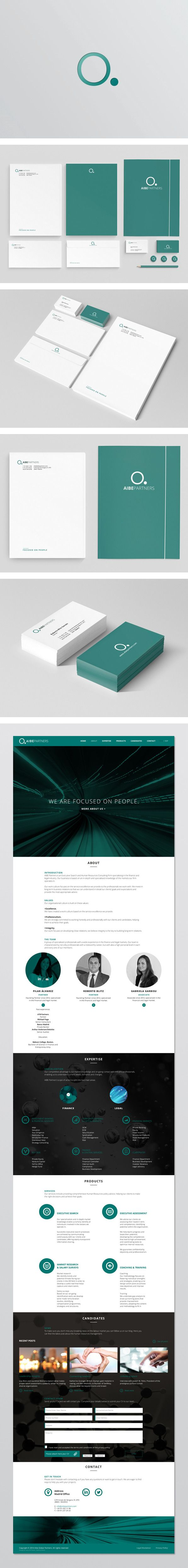Aibe Partners identity