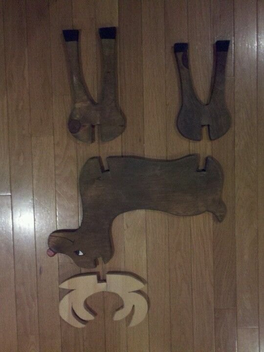 Free Wooden Reindeer Plans - WoodWorking Projects & Plans