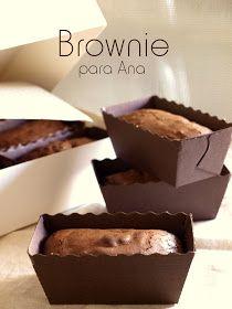 No hay mayor satisfacción que hornear un brownie con la intención de sacar una sonrisa a alguien a quien aprecias y que además de su sonrisa...