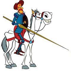 Don Quijote y Rocinante