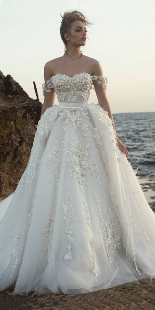 15 Dany Mizrachi Wedding Dresses From Fall Collection 2017 ❤ ball gown with of…