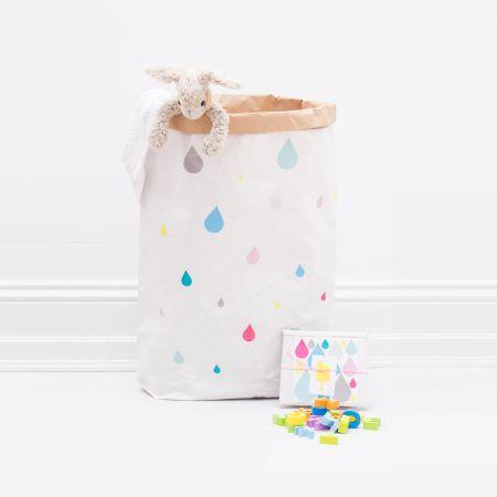 Papiersack / Paperbag / Papiertuete / Happy Tropfen