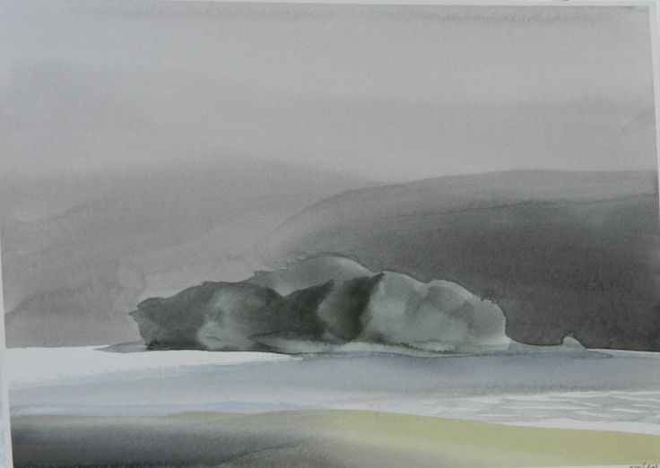 Artist: Toni Onley, Title: Tent Island, B.C. - click to close window
