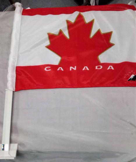 Team Canada Car Window Flag