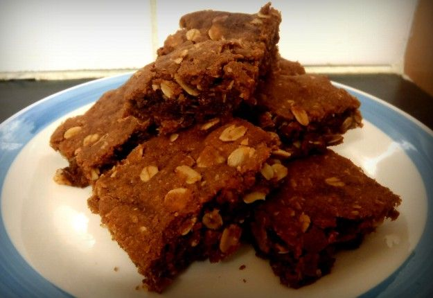 Chocolate ANZAC slice - Real Recipes from Mums