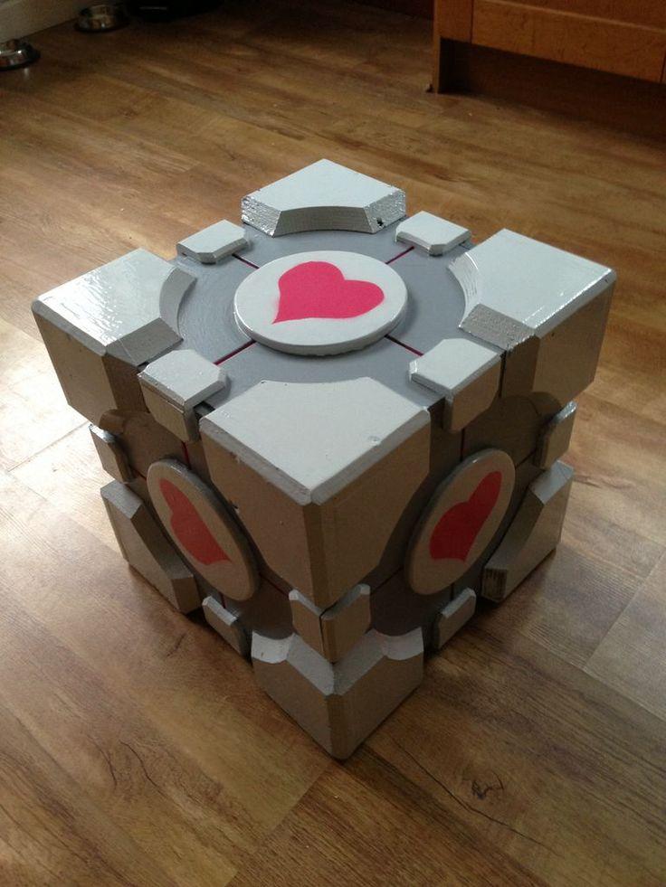 DIY Portal companion cube