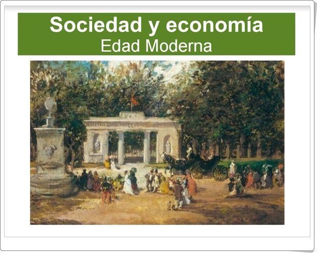 """""""Sociedad y economía en la Edad Moderna"""" (Presentación de Historia de Primaria)"""