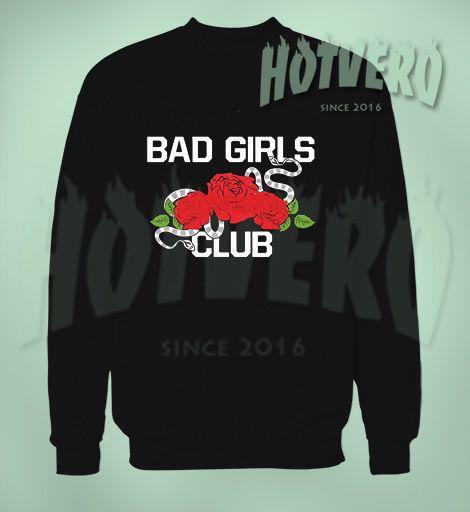 Bad Girls Club Girl Gang Cute Sweatshirt, Cheap Urban Clothing For Men //Price: $27.50//     #90shiphopfashion