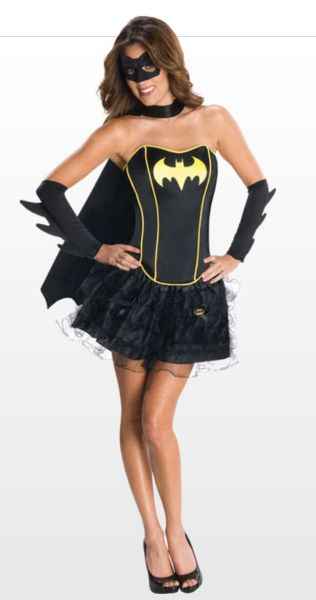 Sexy Batman Costume for Women (SAVE £10)! #batmancostume #sexycostume