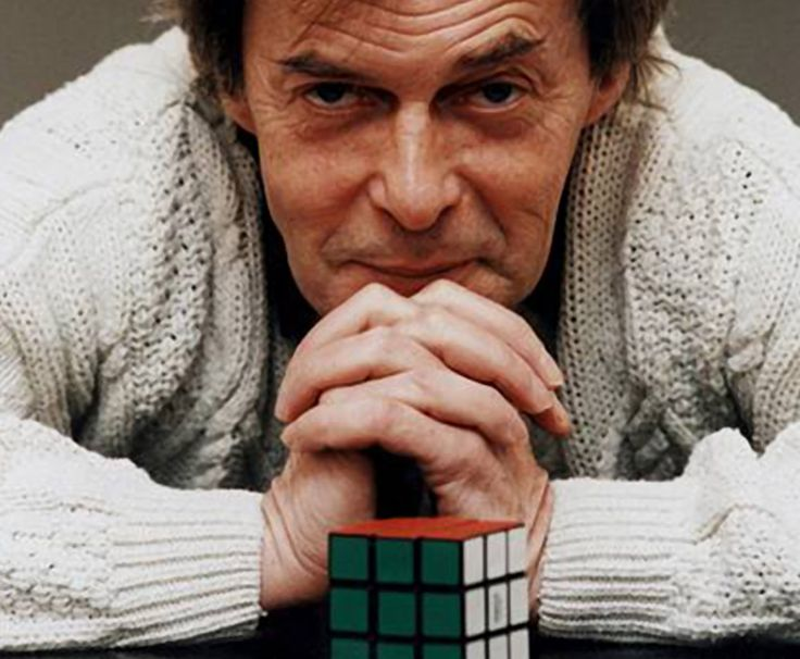 The famous Rubik's Cube was invented in 1974 by Erno Rubik, a Hungarian sculptor and professor of architecture.