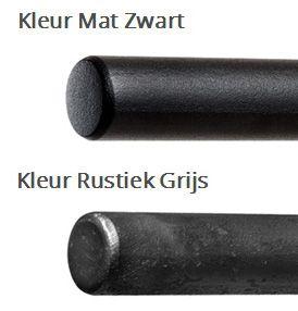 Trapleuning Staal - Rond - Blinde montage - Ronde rozet   Bestel Direct! Handgemaakte trapleuningen bestel je bij de Trapleuningspecialist.nl