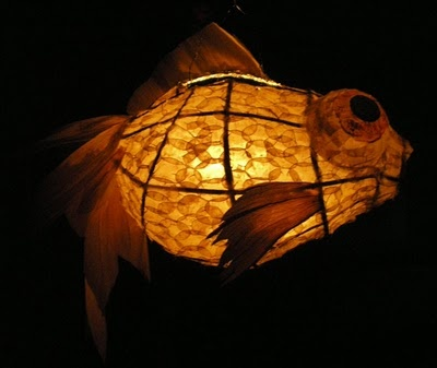Best 25 fish lanterns ideas on pinterest fish for Paper lantern fish