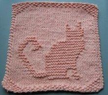 knit dish cloth bee pattern - Google Search