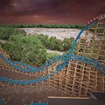 Six Flags Over Georgia to Debut Twisted Cyclone Hybrid Roller Coaster