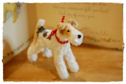 Pipe Cleaner wire fox terrier by maruton on Etsy